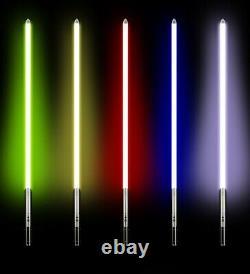 105cm Metal Lightsaber Heavy Duty Light Saber 11 Colours LED Anakin (Striker)