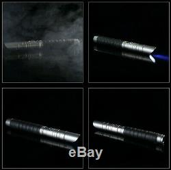 11 RGB Professional Dueling Metal Hilt Lightsaber Jedi Sith Vibrate SFX KYLO REN