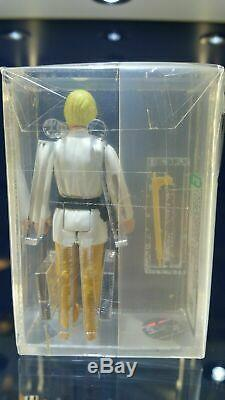 1977 Star Wars Luke Skywalker Farmboy Double Telescoping Lightsaber Afa 85 Nm+