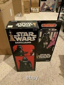 1978 Darth Vader STAR WARS Vintage 12 Large Size Action Figure MIB w Acrylic