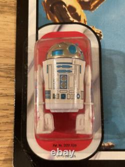 1983 STAR WARS ROTJ Artoo Detoo, R2-D2 w Sensorscope Figure MINT on card