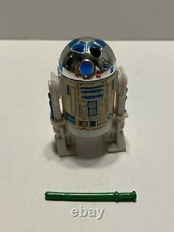 1984 Kenner Star Wars Power of the Force R2-D2 with Pop-up Lightsaber Authentic