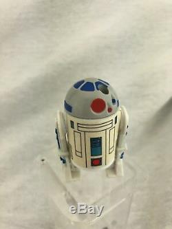 1985 Star Wars R2D2 Pop Up Lightsaber Action Figure Droids Cartoon Kenner Rare