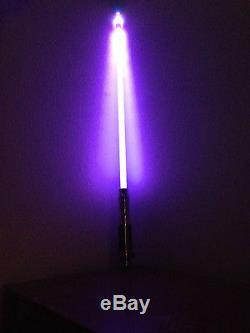 2005 Lucasfilm Master Replicas Force Lightsaber Mace Windu SABER ONLY Star Wars