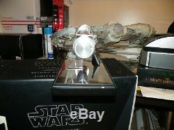 2007 Master Replicas Star Wars Luke Skywalker Lightsaber V2 Rotj 436/1500 Coa