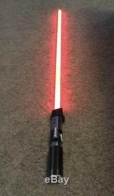 2007 hasbro star wars Darth Vader Fx Light Saber