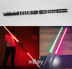 2PCS Lightsaber Star Wars Dueling Force FX Jedi Metal Hilt Toy 16 Colours Sword