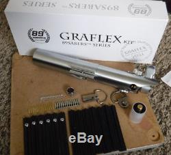 89Sabers GRAFLEX Lightsaber ANH ESB TFA Complete. Luke Hilt FX 89 Sabers Rey
