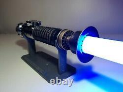 89Sabers Obi-wan Kenobi Lightsaber Weathered with Graflex Clamp