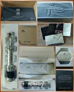 AP Master Replicas Star Wars Mara Jade Lightsaber 11 Sign. Edtn SW-174SE
