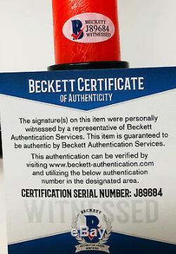 Adam Driver Autographed Kylo Ren Light Saber Star Wars Beckett BAS Witnessed