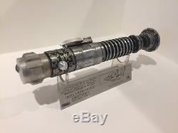 Anakin Starkiller Custom ROTJ V2 Lightsaber Prop Replica Master Luke Skywalker