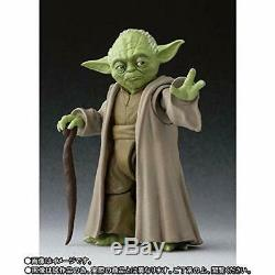 BANDAI S. H. Figuarts YODA Figure (STAR WARSRevenge of the Sith) JAPAN OFFICIAL