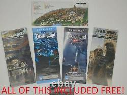 Ben Solo Disneyland Star Wars Galaxy's Edge Legacy Lightsaber Hilt + BONUS MAPS