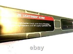 Clone Wars ASHLEY ECKSTEIN Signed AHSOKA TANO Legacy Lightsaber with26 & 36 Blade