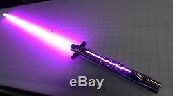 Custom Designed Lightsaber with Neopixel Blade, TCSS Connector, Prizm V5