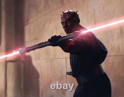 Darth Maul DUAL Legacy Lightsaber Hilts Star Wars Galaxy's Edge W Two 26 Blades