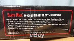 Darth Maul Force FX Light Saber Collectible