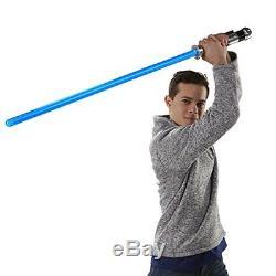 Detailed Obi-Wan Kenobi Star Wars Force Lightsaber Authentic movie sound effects
