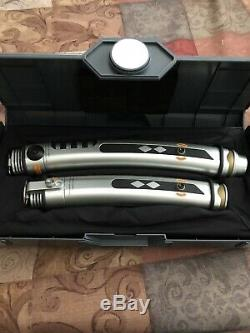 Disney Star Wars Galaxy's Edge Ahsoka Tano Legacy Lightsaber Plus Two 36 Blades