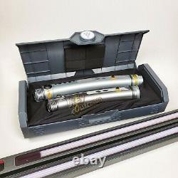 Disney Star Wars Galaxys Edge AHSOKA TANO LIGHTSABER Hilts WITH 26 + 36 BLADES