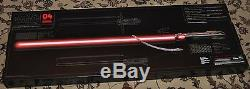 Disney Store Star Wars Kylo Ren Force FX DLX Lightsaber Red Light Saber 2015 NEW