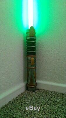 Disneyland Star Wars Galaxy's Edge Custom Light Saber from Savi's Shop
