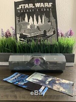 Disneyland Star Wars Galaxy's Edge Legacy Light Saber MACE WINDU SEALED