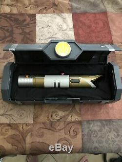 Disneyland Star Wars Galaxys Edge Legacy Lightsaber JEDI TEMPLE GUARD New