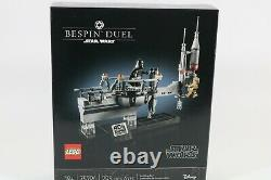 EXCLUSIVE LEGO STAR WARS BESPIN DUEL 75294 SET DARTH VADER EMPIRE 40th BNIB