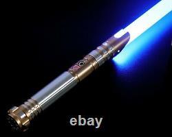 GOLD HAMMER Dueling Lightsaber, Lightsaber FX, Star Wars Lightsaber, 11 Colors