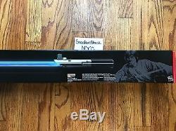 Hasbro Star Wars Black Series Luke Skywalker Force FX Blue Lightsaber Graflex IV
