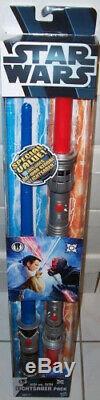 Hasbro Star Wars Jedi Vs. Sith Light Sabre 2 Pack Exclusvie Obi-wan Vs. Darth