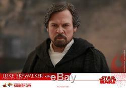 Hot Toys Luke Skywalker Star Wars The Last Jedi (CRAIT) 1/6 Scale Figure MMS507