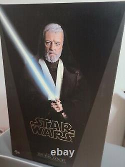 Hot Toys MMS 283 Star Wars New Hope Obi-Wan Kenobi Alec Guinness Figure