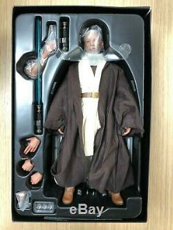 Hot Toys MMS 283 Star Wars New Hope Obi-Wan Kenobi Alec Guinness Figure USED