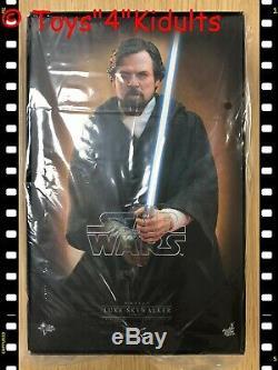 Hot Toys MMS 507 Star Wars The Last Jed Luke Skywalker (Crait Version) 1/6 New