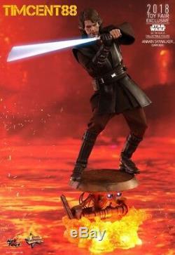 Hot Toys MMS486 Star Wars Revenge of Sith Anakin Skywalker Dark Side Open New