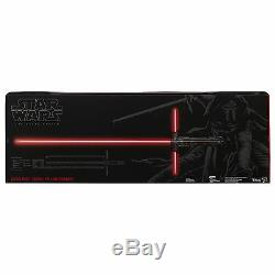 KYLO REN Deluxe Force FX Light Saber Star Wars Black Series Force Awakens new MI