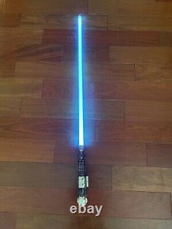 Korbanth K4 V1 Obi Wan Kenobi New Hope Lightsaber. Nano Biscotte V3 Tri Cree RGB