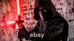 Kylo Ren Lightsaber Star Wars METAL Combat Dueling Light saber Cross Durable RED