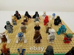 LEGO 115+ Minifigure Star Wars Lot Stormtrooper Clone Droid Lightsaber Rare Lego