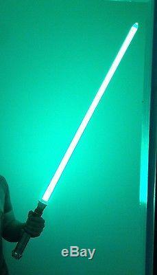 LUKE SKYWALKER ROTJ 46 long Master Replicas Force FX Lightsaber Removable Blade