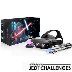 Lenovo Ar Star Wars Jedi Challenges Vr Headset / Lightsaber / Tracking Beacon