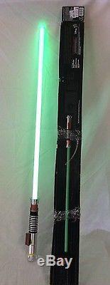 Luke Skywalker FORCE FX Lightsaber STAR WARS The Black Series GREEN