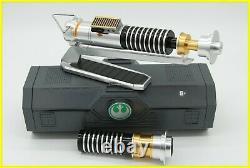 Luke Skywalker Rey Legacy Lightsaber Star Wars Galaxy's Edge Disney Parks Nib Nw