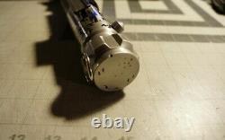 Luke Skywalker V2 Lightsaber Hilt Replica Fully Installed Neopixel CFX10 Crystal