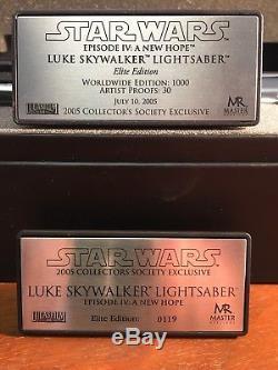 Master Replicas Luke Skywalker Elite Edition Lightsaber