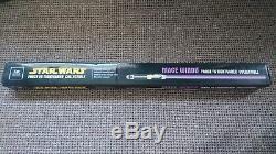 Master Replica Stars Wars Force FX Mace Windu lightsaber very rare