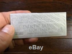 Master Replicas Darth Maul Lightsaber Prop Replica, Limited Edition